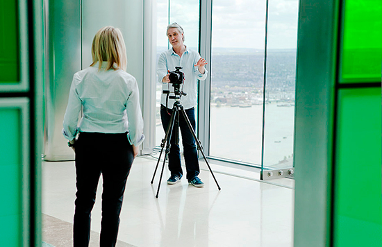 behind the scene photos at barclays bank