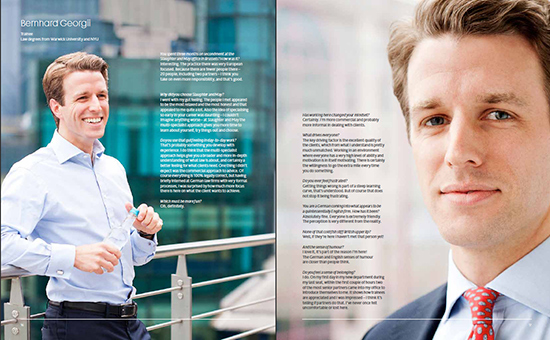law firm recruitment brochure